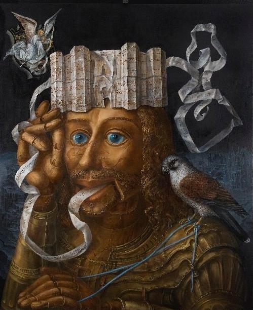 Alexandra Müller-Jontschewa | Botschaft vom Castel del Monte | Surrealismus Aktuelle