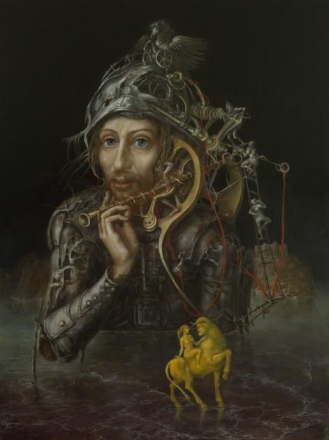 Alexandra Müller-Jontschewa | Der arme Ritter | Surrealismus Aktuelle