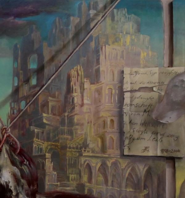 Hans-Peter Müller | Schindung des Marsyas | Ausschnitt
