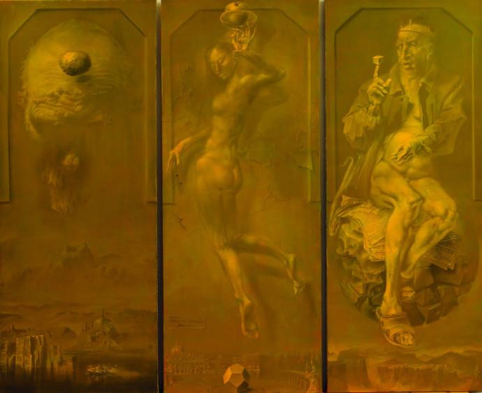 Hans-Peter Müller | Die Geheimnisse der Levitation | Surrealismus Akuelle