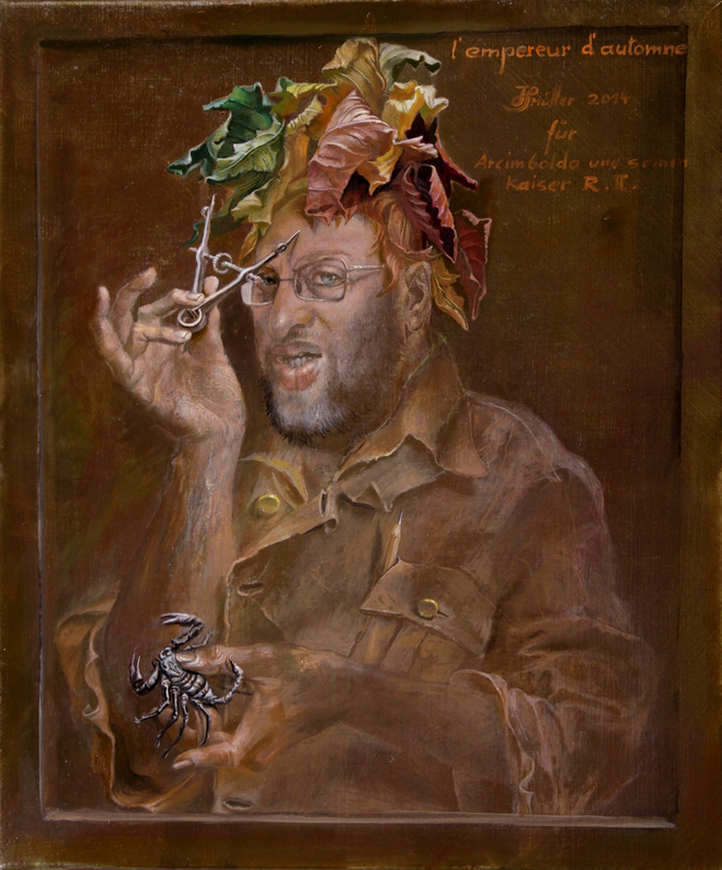 Hans-Peter Müller | l'empereur d'automne | Surrealismus Aktuelle