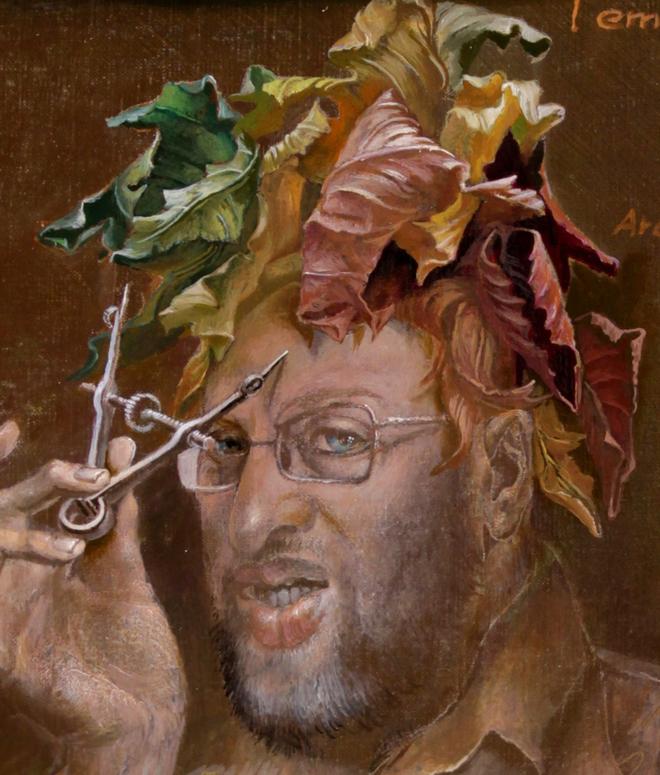 Hans-Peter Müller | l'empereur d'automne | Ausschnitt | Surrealismus Aktuelle