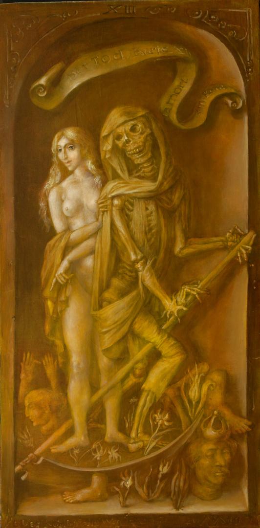 Alexandra Müller-Jontschewa | Der Tod | Surrealismus-Aktuelle.com  | Der Weg des Tarocks