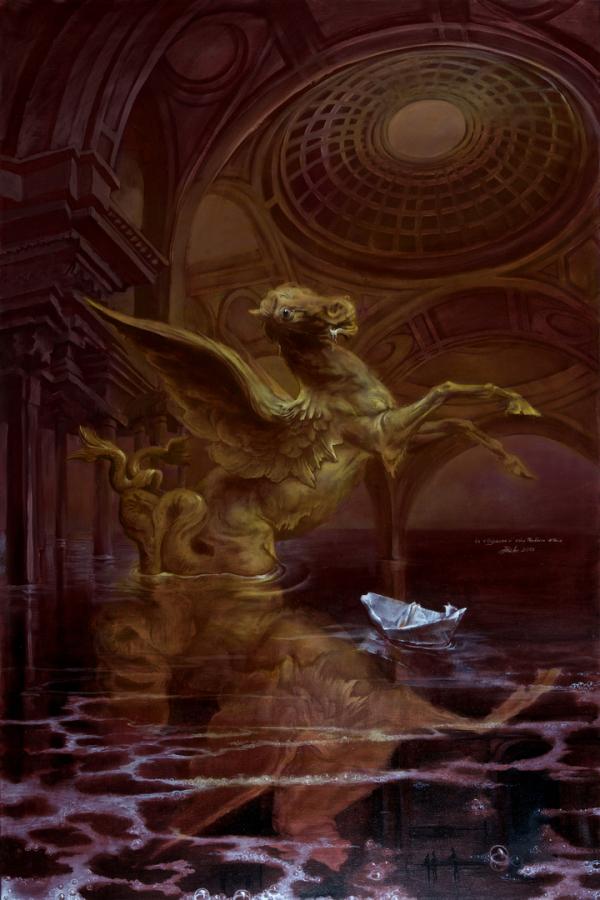 Hans-Peter Müller | L'odissée dans le Panthéon à Paris | Surrealismus Aktuelle