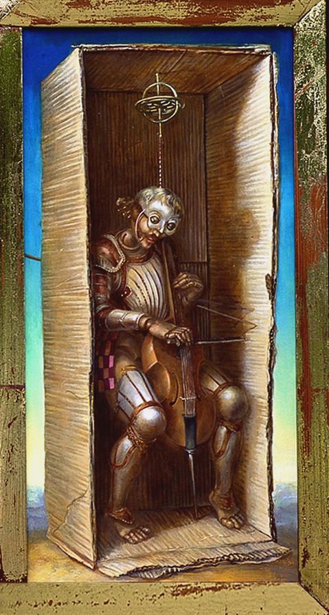 L'outremer,Triptychon | Alexandra Müller-Jontschewa | Surrealismus-Aktuelle