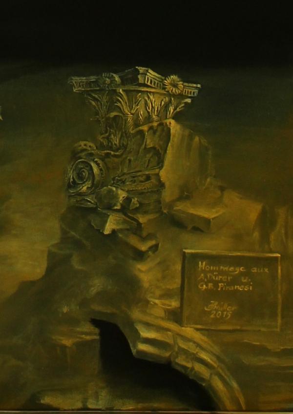 Hans-Peter Müller | Hommage aux A.Dürer und G.Piranesi | 2015 | Surrealismus-Aktuelle.com