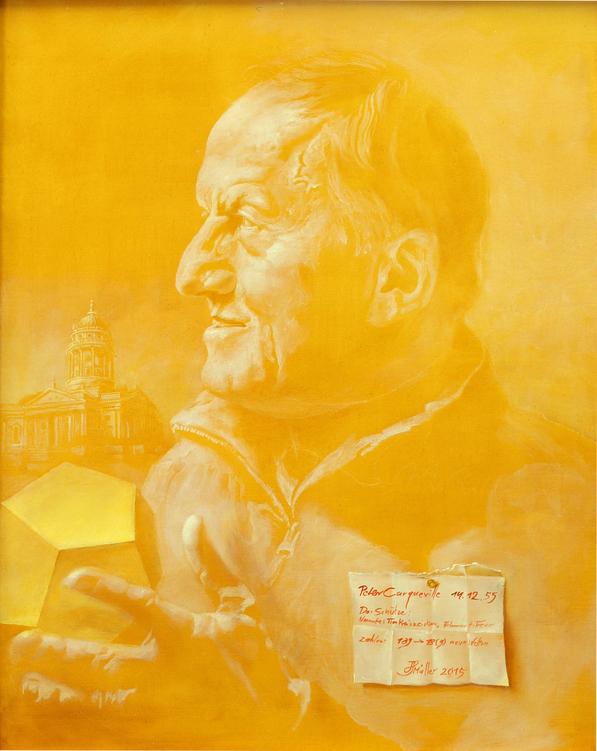 Hans-Peter Müller | Bildnis P.C. | Surrealismus-Aktuelle.com