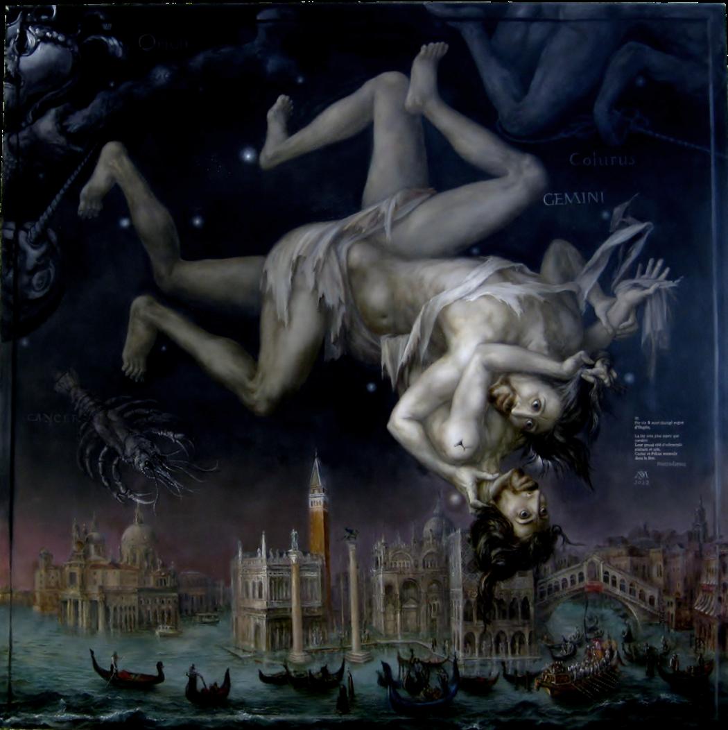 Alexandra Müller-Jontschewa | Sternbild: Gemini, Zwillinge | Surrealismus-Aktuelle.com
