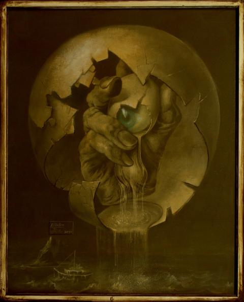 Hans-Peter Müller | Odins Auge, Edda II | Surrealismus Aktuelle