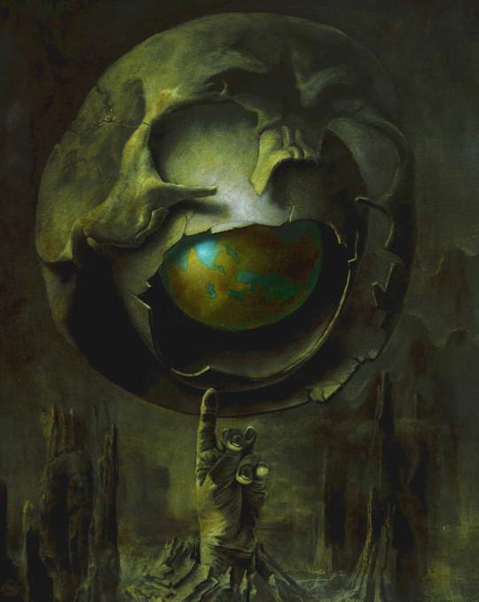Hans-Peter Müller | Odins Tränen, Edda I | Surrealismus Aktuelle