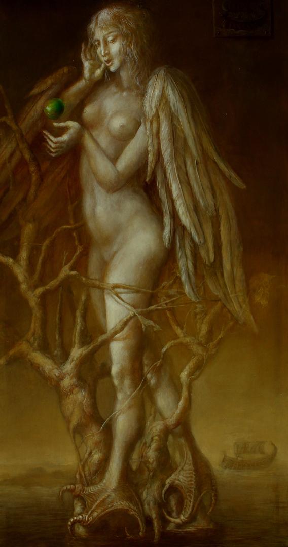 Alexandra Müller-Jontschewa | Sirene im Baum