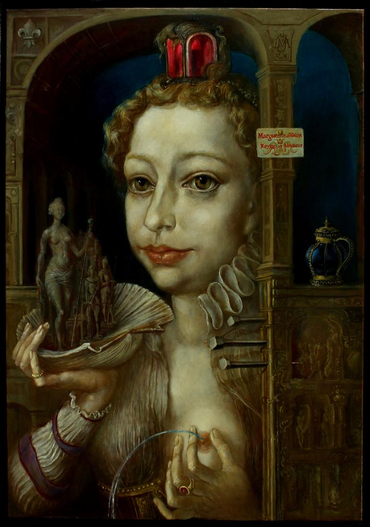 Alexandra Müller-Jontschewa | Marguerte von Valoys | Surrealismus-Aktuelle.com