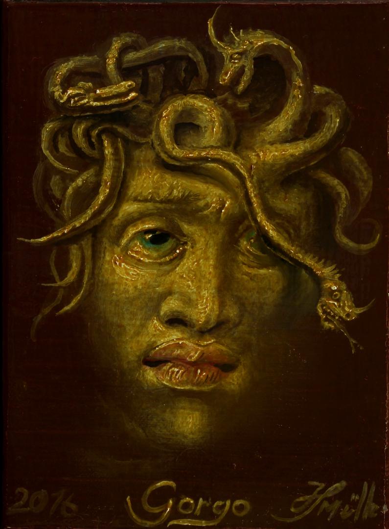 Hans-Peter Müller | Gorgo | Surrealismus-Aktuelle.com