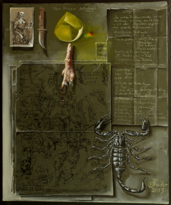 Hans-Peter Müller | Sternbild: Scorpion | Surrealismus-Aktuelle.com