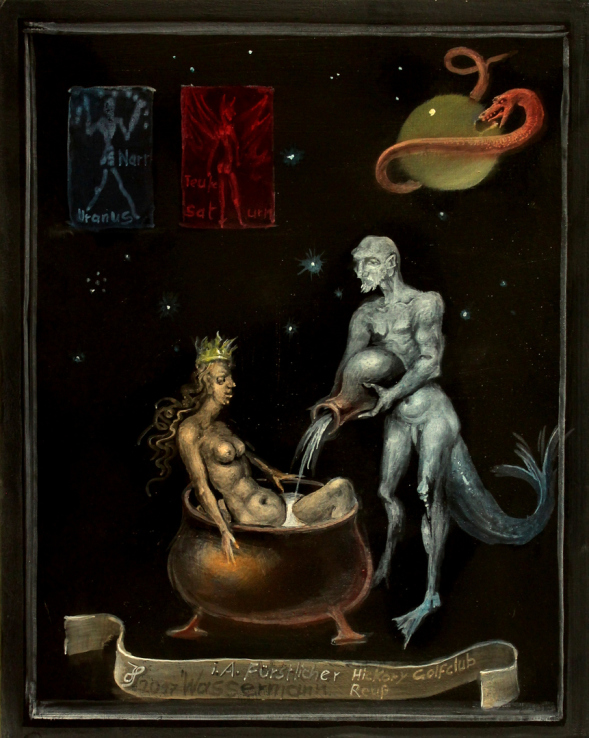 Hans-Peter Müller | Wassermann |Surrealismus-Aktuelle.com