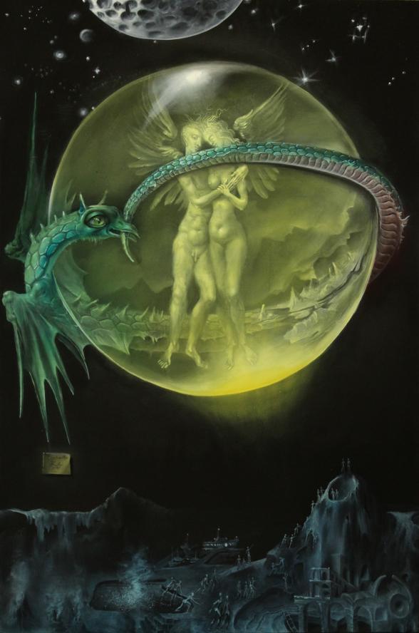 Hans-Peter Müller | Conjunction | surrealismus-aktuelle.com