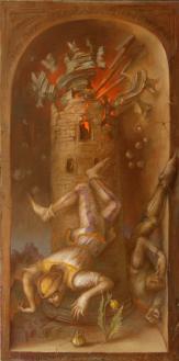 """Der Turm """"Der königliche Weg"""", Alexandra Müller-Jontschewa"""