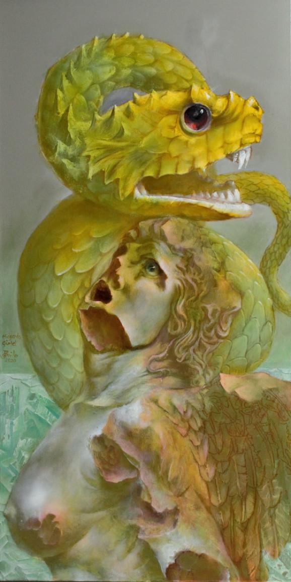 Hans-Peter Müller | Midgards Gürtel | surrealismus-akutelle.com