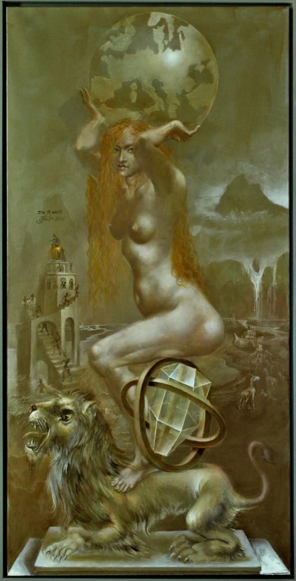 Hans-Peter Müller | Die neunte Welt | surrealismus-akutelle.com
